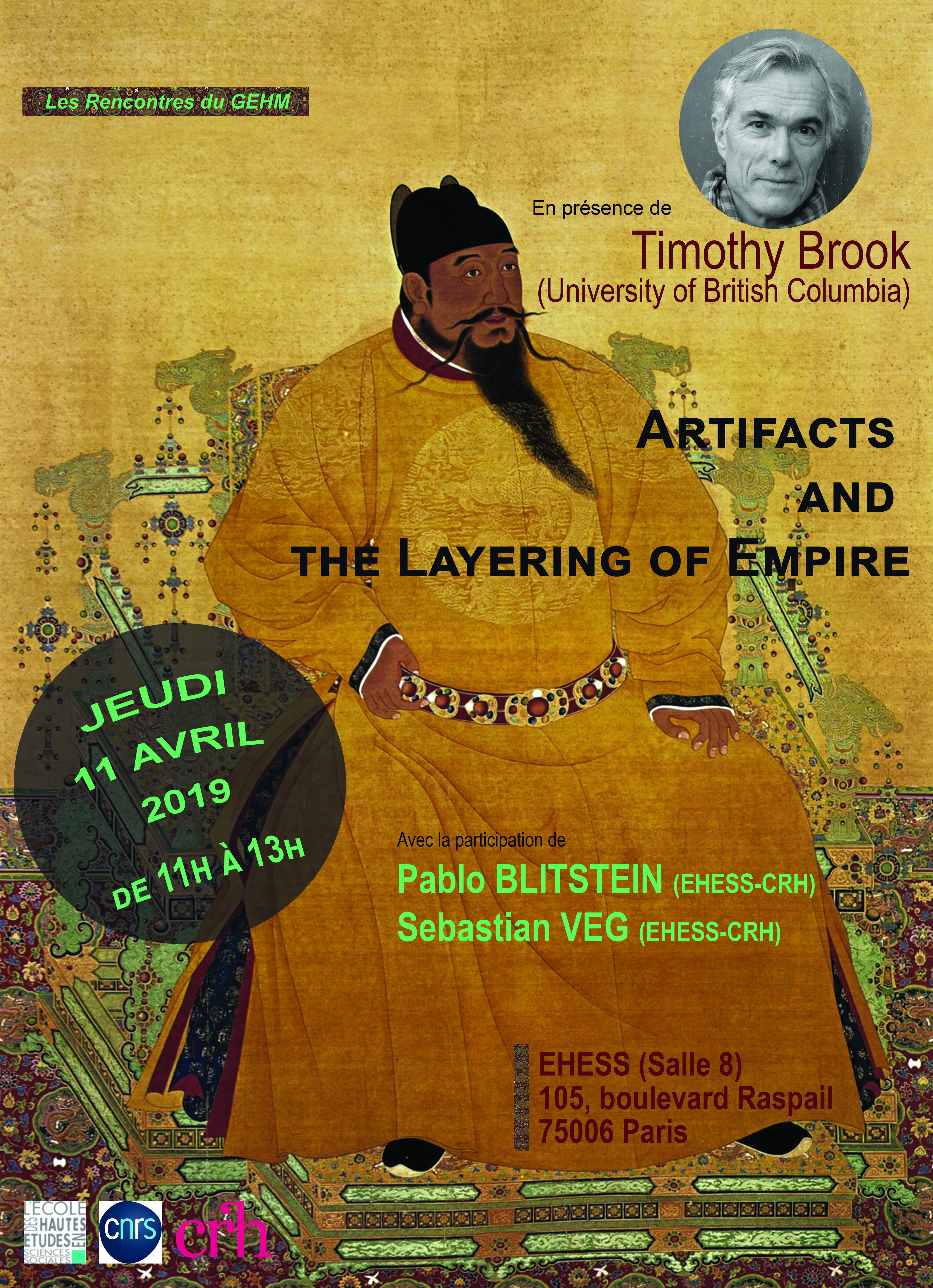 Timothy Brook. Artifacts and the Layering of Empire